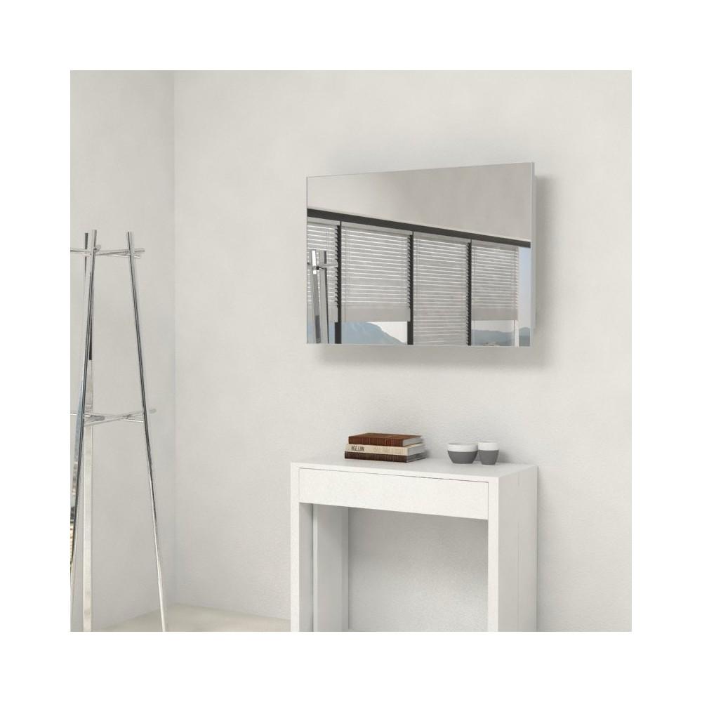 miroir avec porte extensions accessoire console extensible. Black Bedroom Furniture Sets. Home Design Ideas