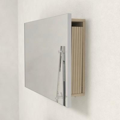 Miroir avec porte-extensions pour console extensible