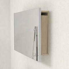 Specchio con porta prolunghe per consolle allungabili