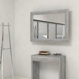Specchio cornice con porta prolunghe consolle