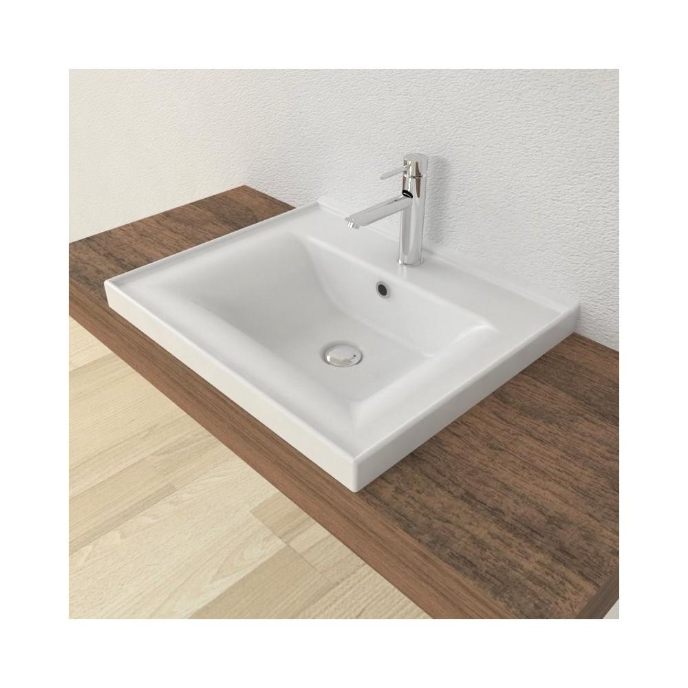 Recessed washbasin Sava 55