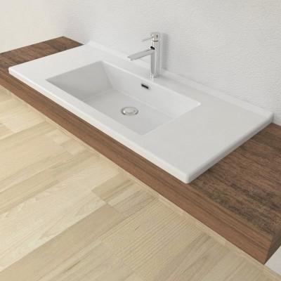 Lavabo encastré salle de bain Etna 100