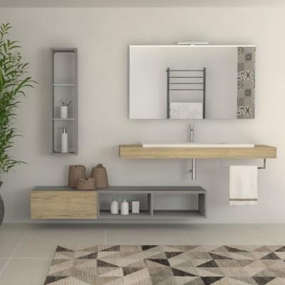 Nature - Meuble salle de bains complet