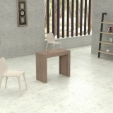 Extensible console Marte in laminated wood folding