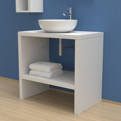 Wash basin Cabinet with storage compartment