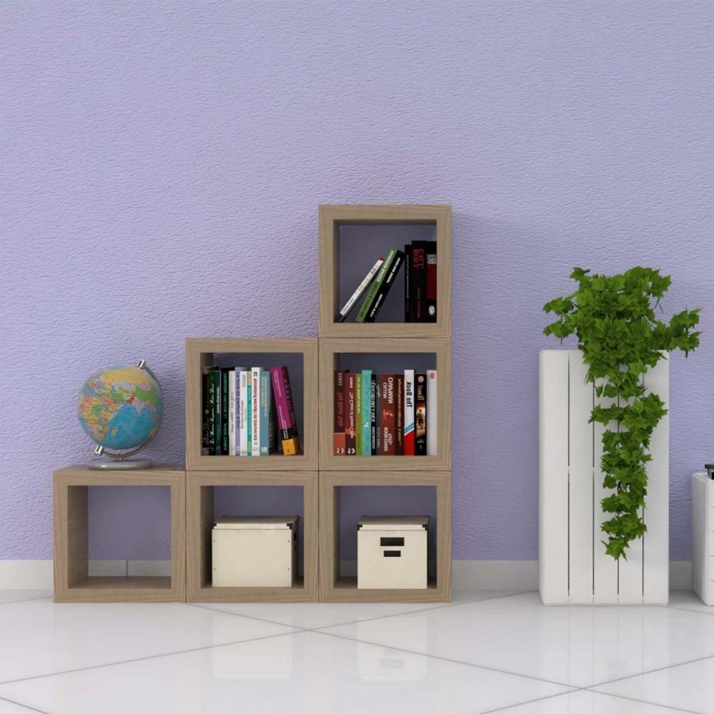 Cubi da parete cubi arredo cubi in legno sp 4 cm for Cubi da parete ikea