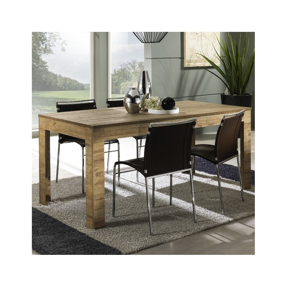 Tavoli da cucina - Tavolo moderno Iris in legno laminato