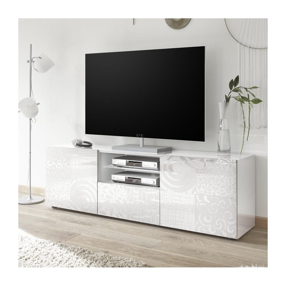 Mobile porta TV Takao bianco - Mobile contenitore - Mobili soggiorno