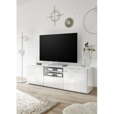 """Takao"" TV stand 181 cm - white"