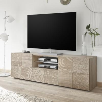 """Takao"" TV stand 181 cm - durmast"
