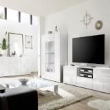 Set soggiorno completo Takao 3 bianco