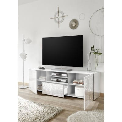 Set salon complet Takao 3 blanc