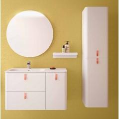 Fluid 90 - Mobile completo arredo bagno + Colonna