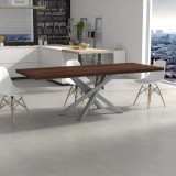 Solid wood Polinesia extendable Table