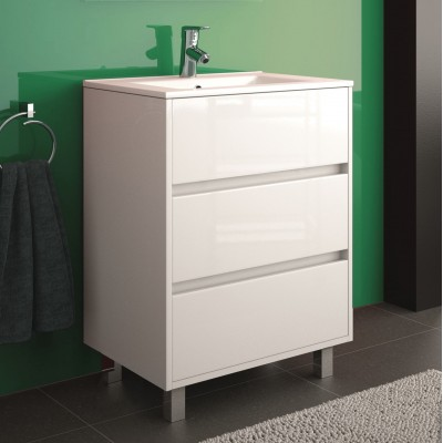 Tirreno furniture glossy white