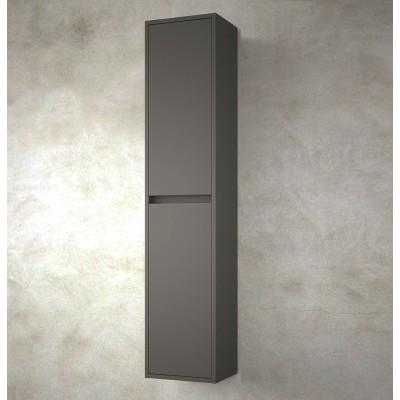 Colonne salle de bain Nuvola 140 cm gris mat