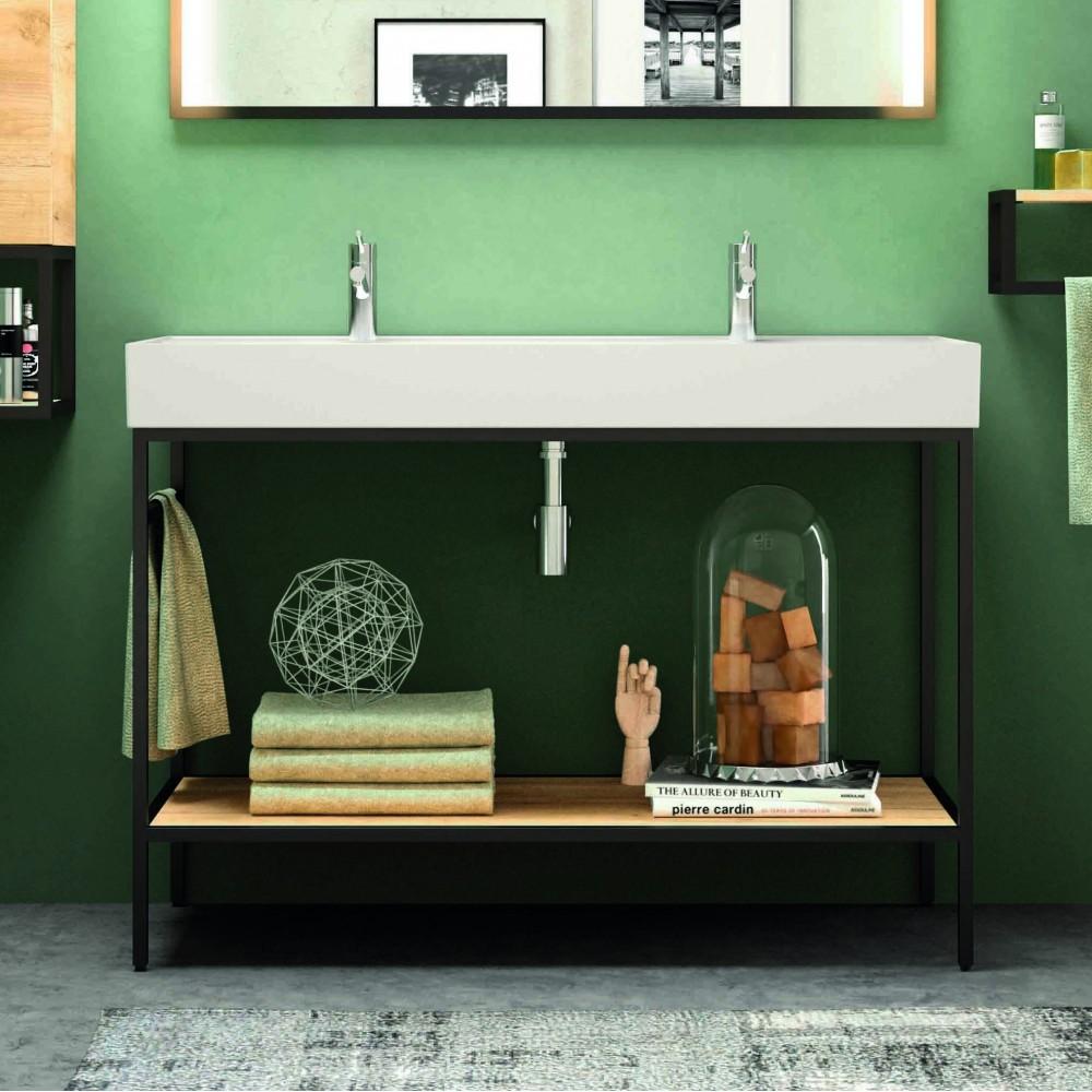 Mobili bagno - Arredo bagno - Mobile bagno Lione lavabo 120 cm