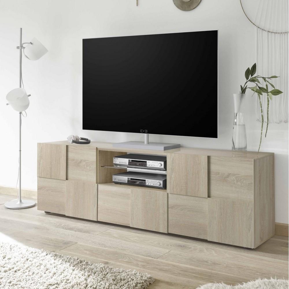 Immagini Mobili Soggiorno.Mobile Porta Tv Scacco Rovere Mobile Contenitore Mobili Soggiorno
