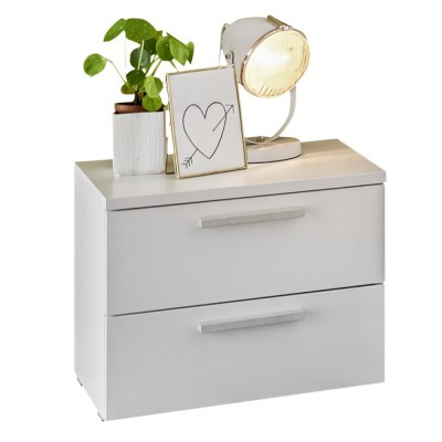 Apple bedside table white