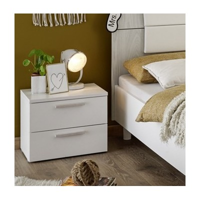 Apple bedside table white