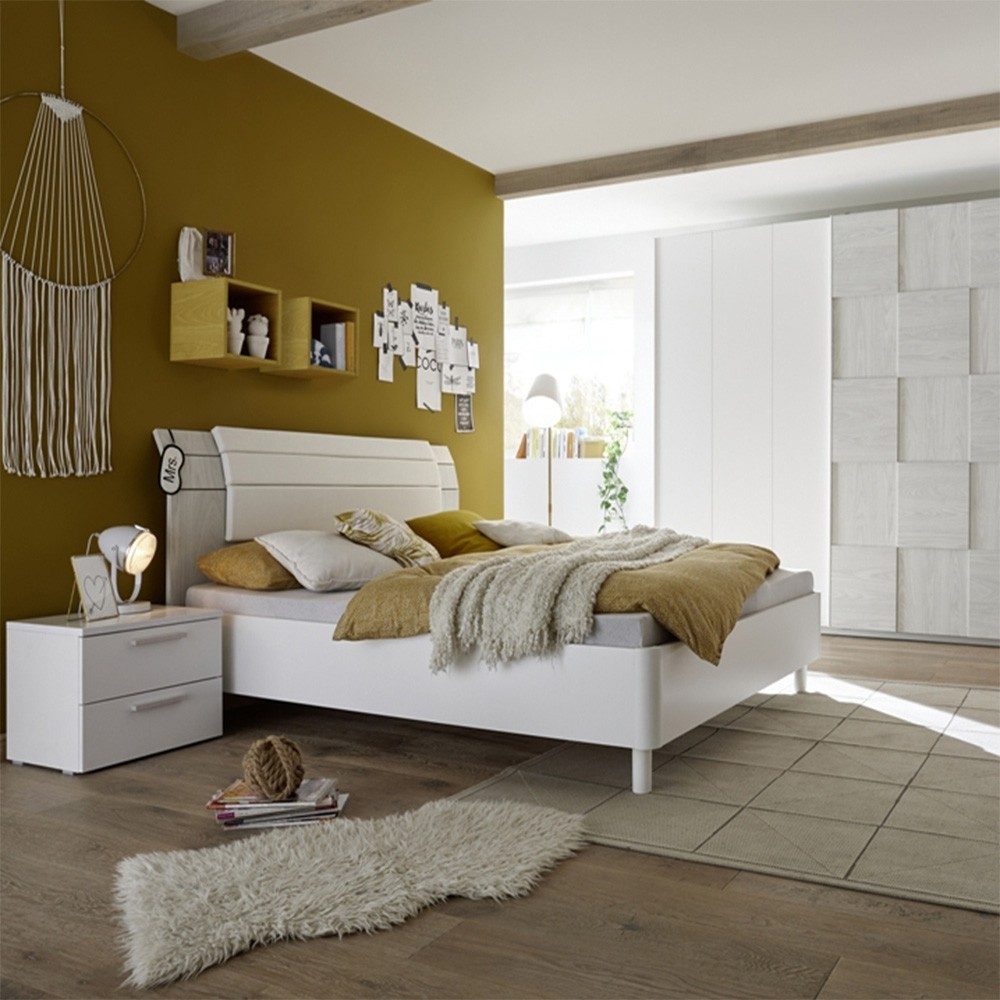 Apple complete bedroom white