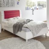Juice bed white / red
