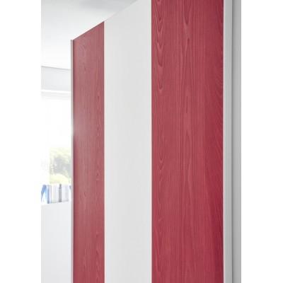 Juice wardrobe white / red