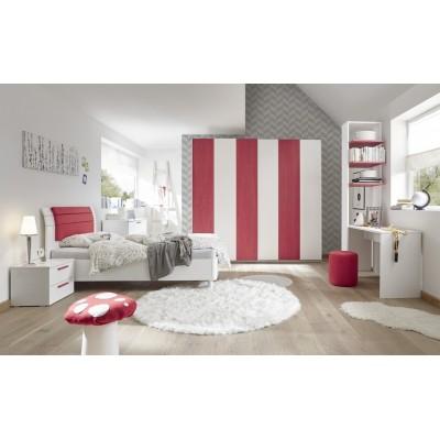 Camera completa Juice bianca / rossa