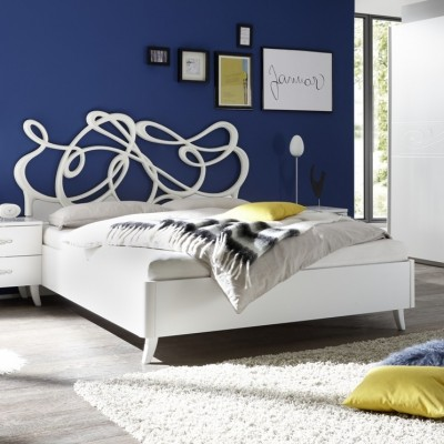 Eliot bed white