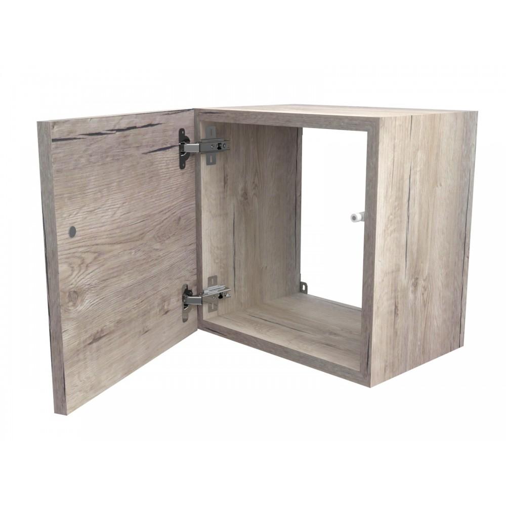 Etagere cube avec porte