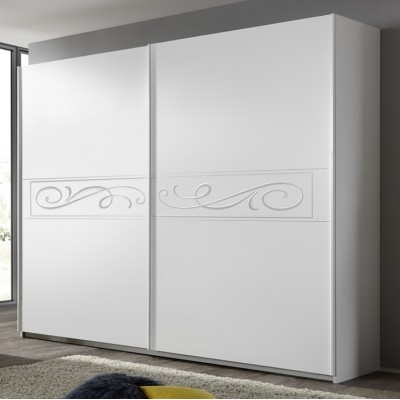 Eliot wardrobe white