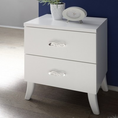 Eliot bedside table white