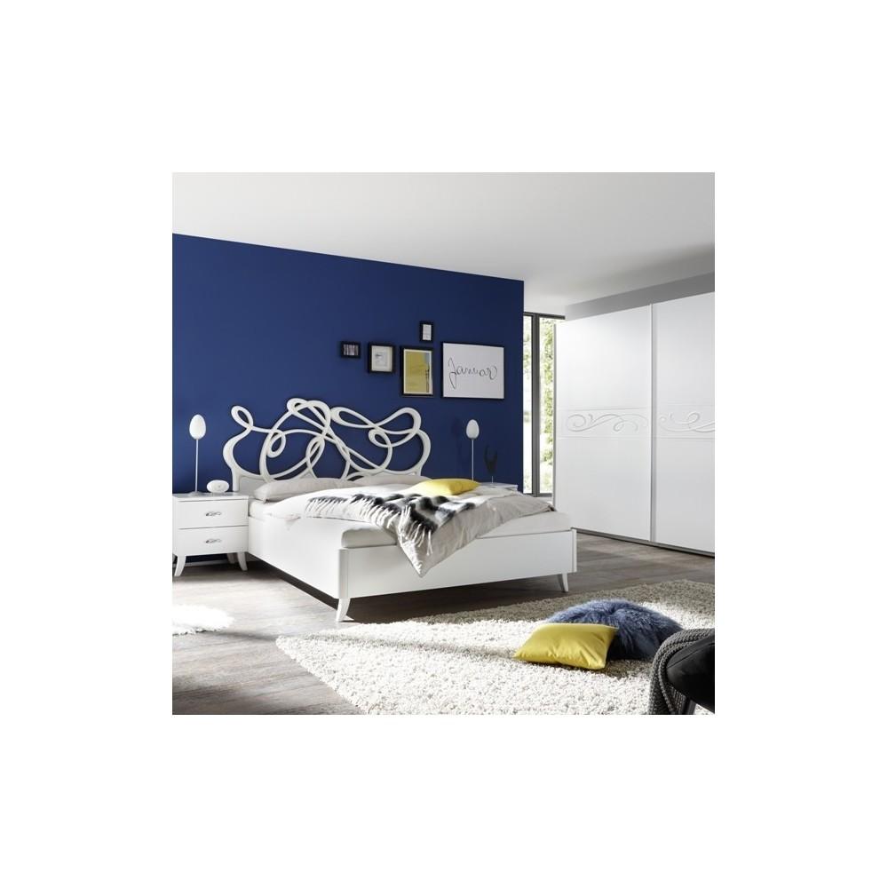 Chambre à coucher Eliot blanc