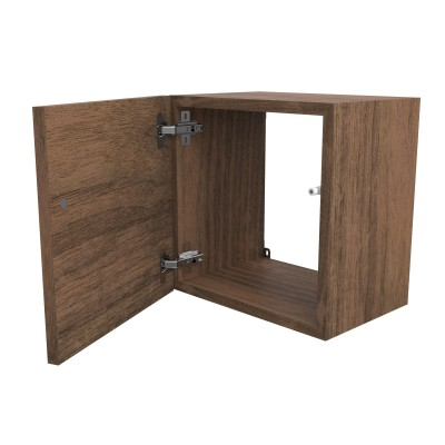 Wall cubes with door