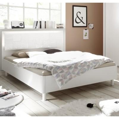Berlino bed white