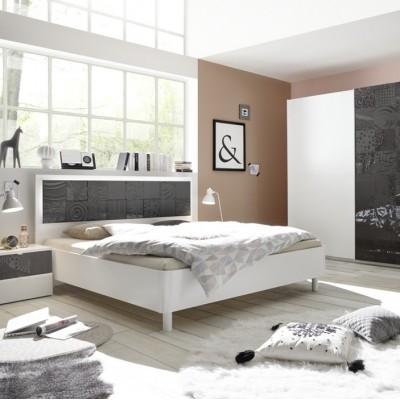 Camera completa Berlino bianco / nera