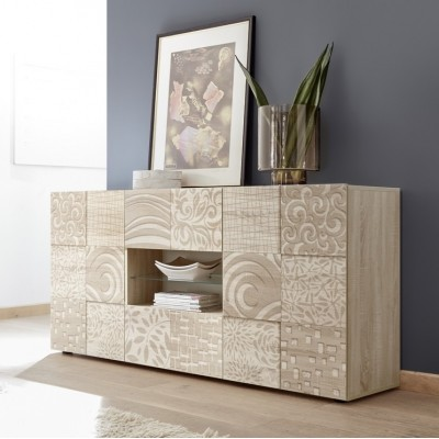 """Takao"" 2 doors / 2 drawers sideboard - durmast"