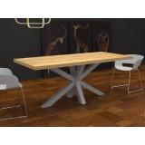 Tavolo da cucina Salomone in legno massello