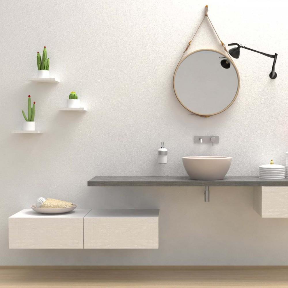 Mobili bagno cassettiera cassettone for Mensole bagno design
