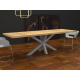 Solid wood Salomone extendable Table