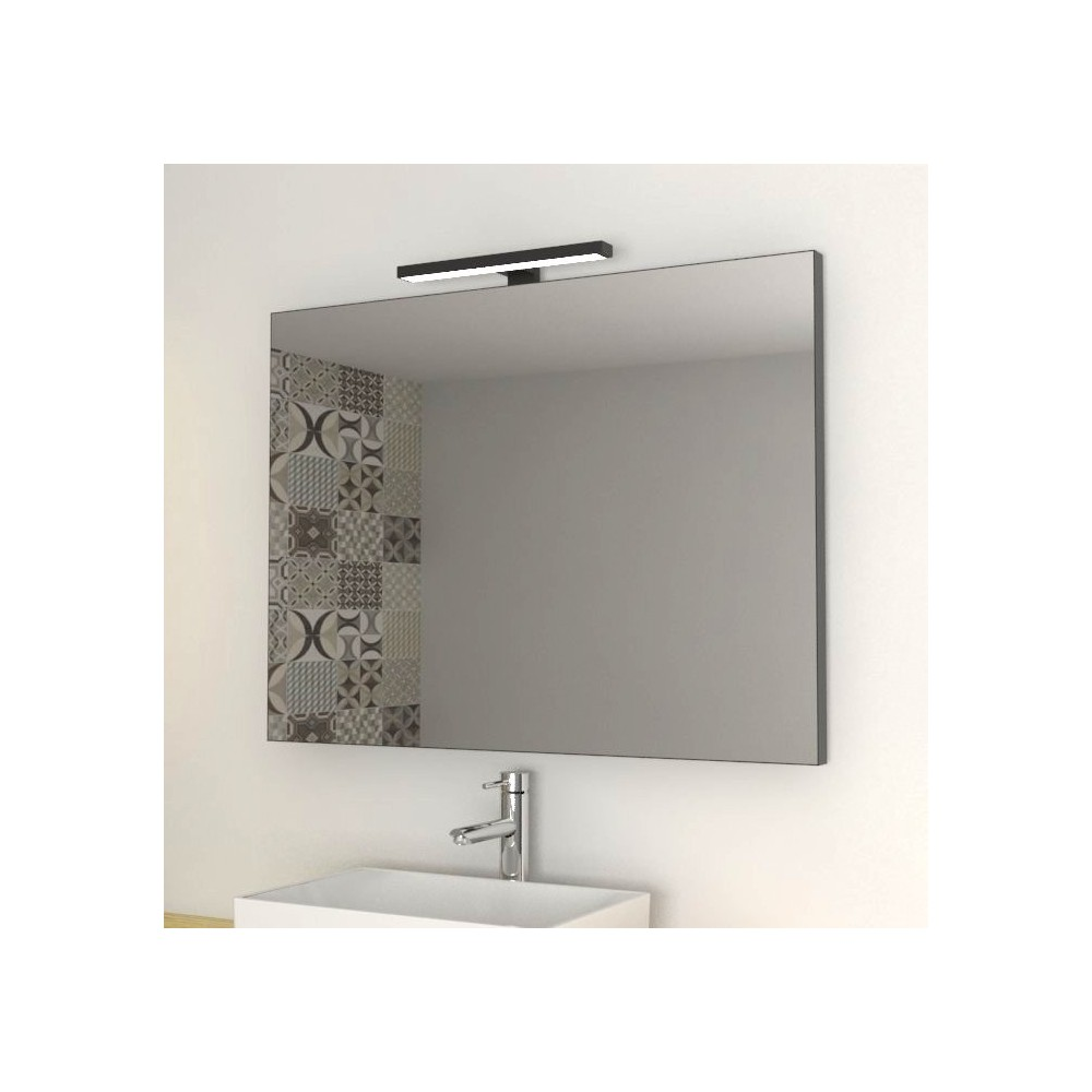 Black edge Mirrors for bathroom and home