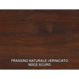 Salomone Table in irregular edge solid wood