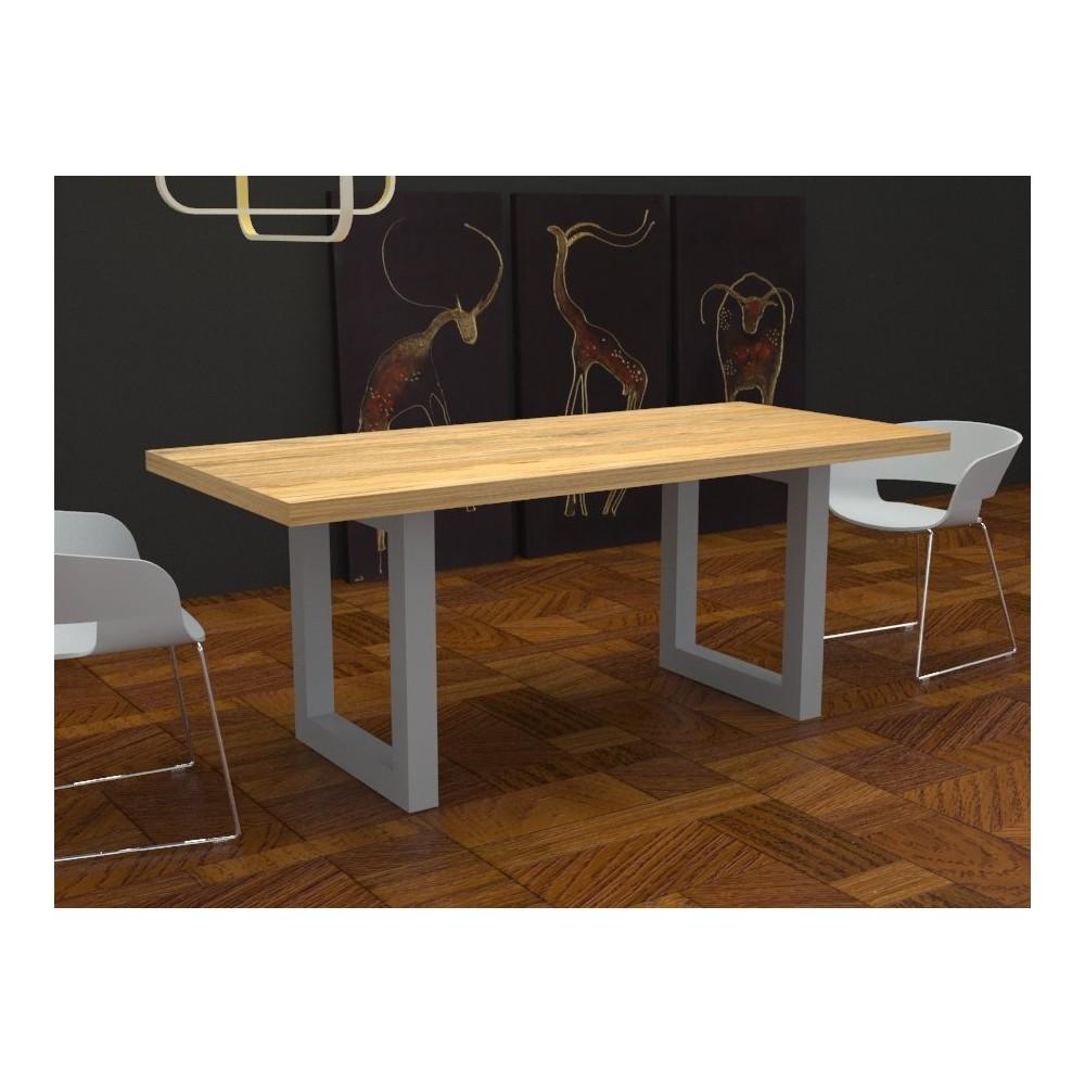 Tavoli da cucina - Tavolo Jacob in legno massello