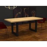 Tavolo da cucina Jacob in legno massello