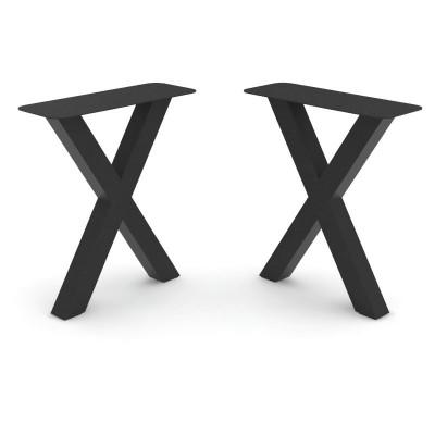 Set n.2 Pieds de table Deryck