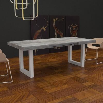 Table extensible Deryck avec porte extensions