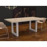 Tavolo Jacob legno massello scortecciato