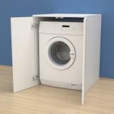 Meuble couvercle machine à laver avec portes