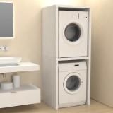 Column cover furniture for washing machine