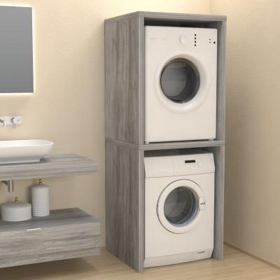 Meuble colonne couvercle machine à laver